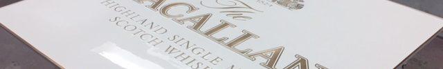 Cast bronze signage