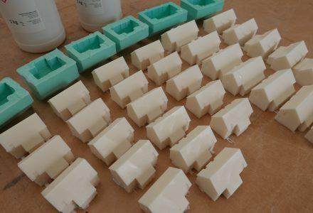 Polyurethane-Resin Houses